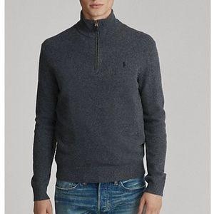 Polo Ralph Lauren Merino Wool 1/4 Zip Sweater - L